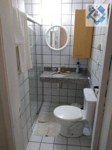 Apartamento com 1 dormitório à venda, 38 m² por R$ 220.000 - Porto das Dunas - Aquiraz/CE - Foto 9