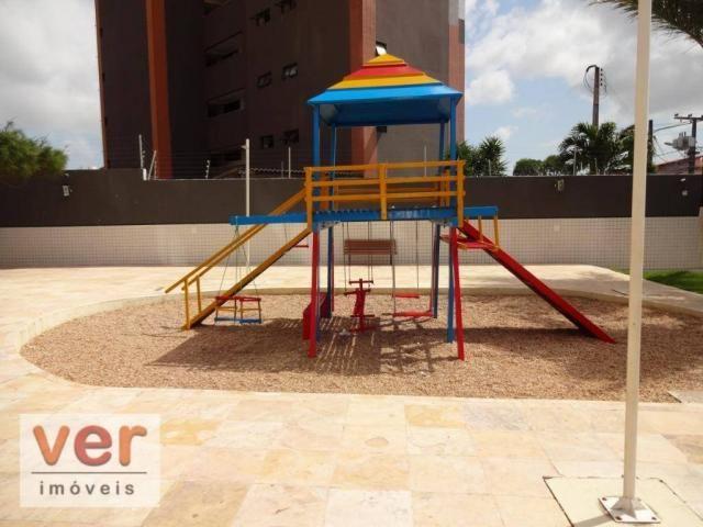 Apartamento com 3 dormitórios para alugar, 74 m² por R$ 800,00/mês - Messejana - Fortaleza - Foto 6