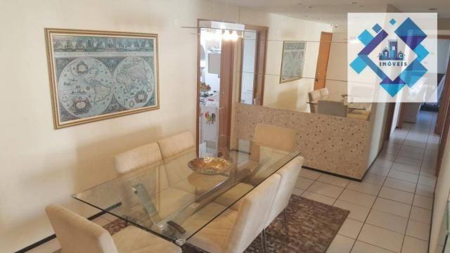 Apartamento de 122m² no porcelanato com móveis projetados. - Foto 6
