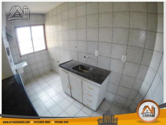 Apartamento com 3 dormitórios à venda, 70 m² por R$ 240.000,00 - Montese - Fortaleza/CE - Foto 8