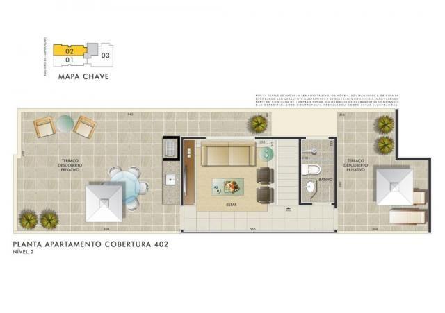 Apartamento com 3 dormitórios à venda, 112 m² por R$ 350.000 - Manacás - Belo Horizonte/MG - Foto 9