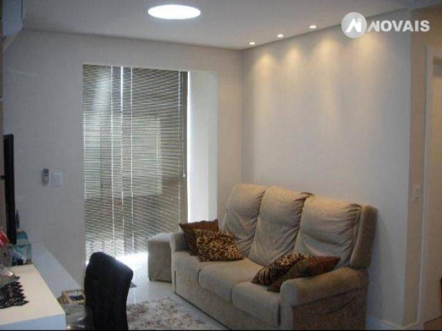 Apartamento com 2 dormitórios à venda, 54 m² por r$ 260.000,00 - santo andré - são leopold
