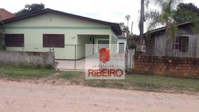 Casa com 3 dormitórios à venda, 170 m² por R$ 200.000 - Coloninha - Araranguá/SC