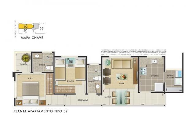 Apartamento com 3 dormitórios à venda, 112 m² por R$ 350.000 - Manacás - Belo Horizonte/MG - Foto 13
