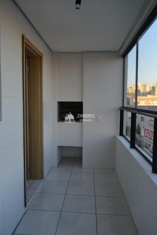 Apartamento para alugar 03 Dormitórios em Santa Maria com Suite Elev Sacada Churrasqueira  - Foto 5