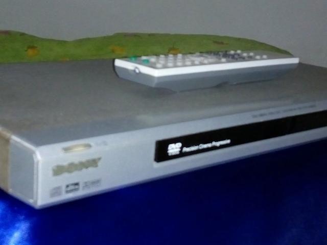 DVD Sony conservado.