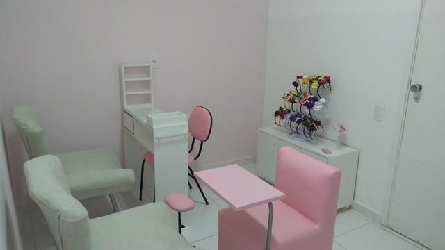 Aluguel cadeira manicure em clínica