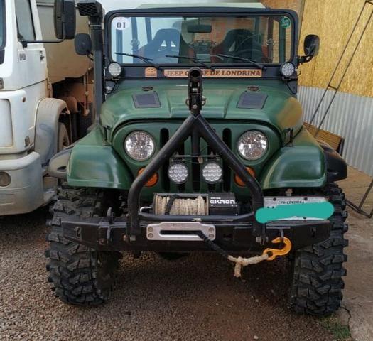 Jeep wyllis 4x4 1959 motor diesel jipe top