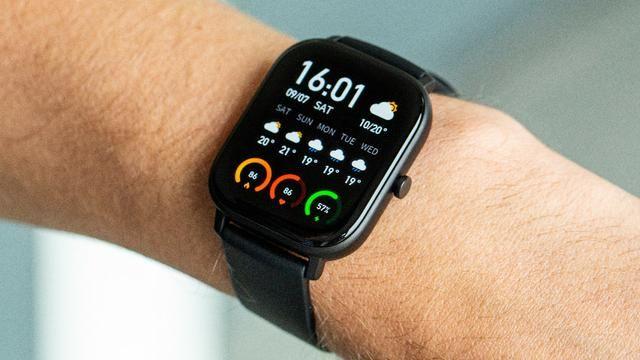 Relógio Inteligente Xiaomi Amazfit GTS Smartwatch Amoled Global - Foto 2