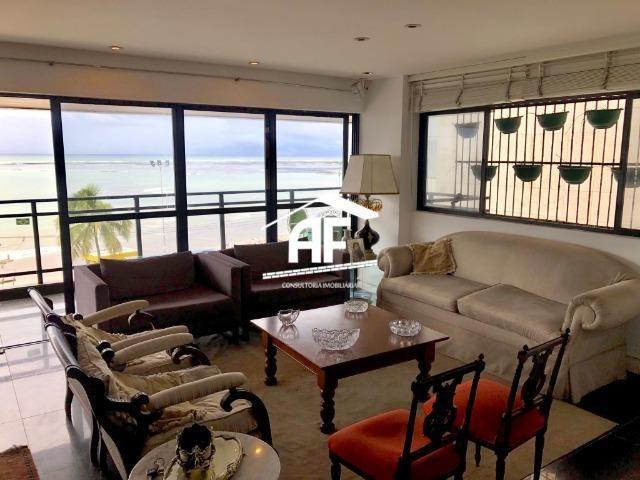 Apartamento com Vista para o mar - 300m² - 3 quartos todos suítes - Ótima localização - Foto 2