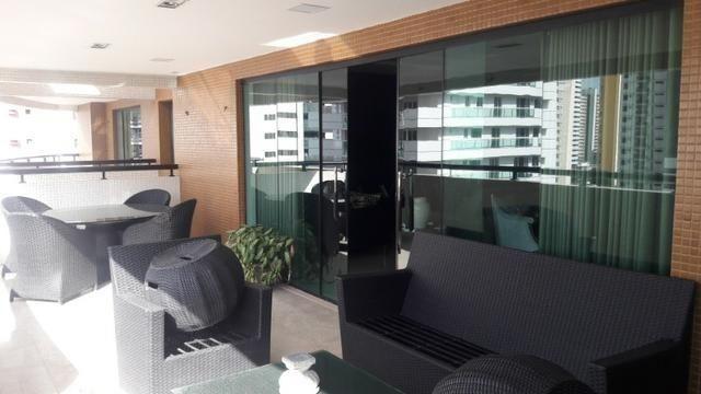 Belíssimo e Luxuoso Apto 100% Mobiliado 500 m² Um Por Andar no Torre de Tolêdo - Foto 11