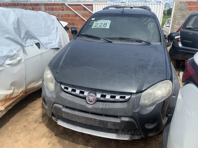Sucata de new Fiesta sedan 1.5 manual. Para retirada de peças - Foto 5