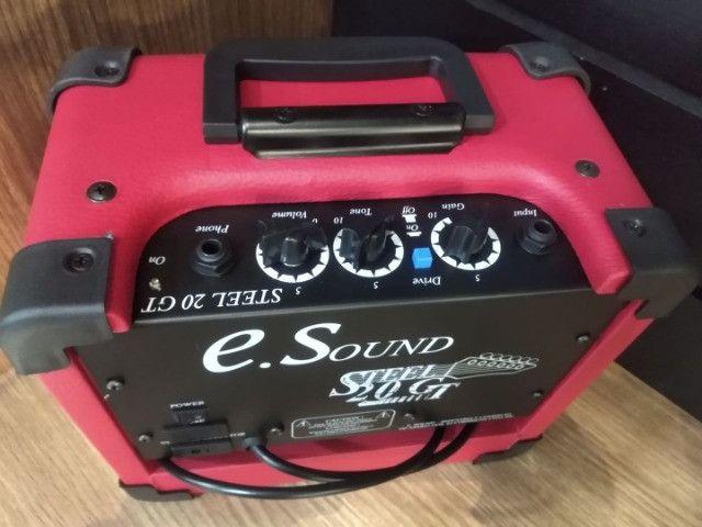 Amplificador p guitarra Wr Audio Steel 20gt Mixer Instrumentos Musicais - Foto 6