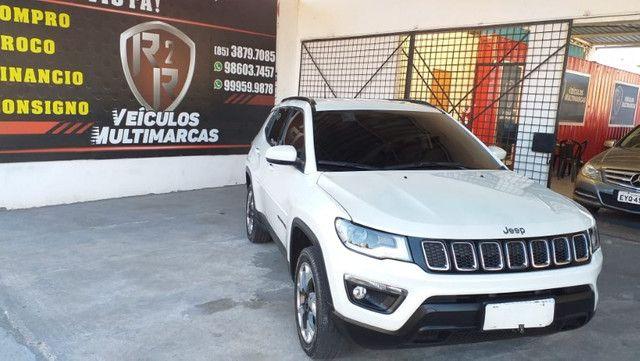 Jeep Compass longitude 2019 diesel 4x4 com apenas 27km, para exigentes, revisado - Foto 3