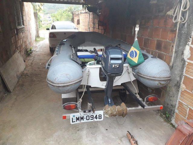 Bote SR10 inflável  - Foto 4