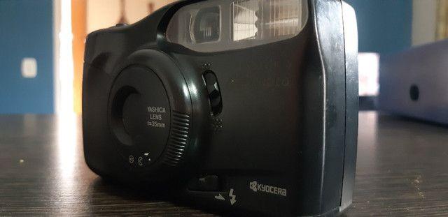 Câmera fotografica Analógica Yashica MG-motor