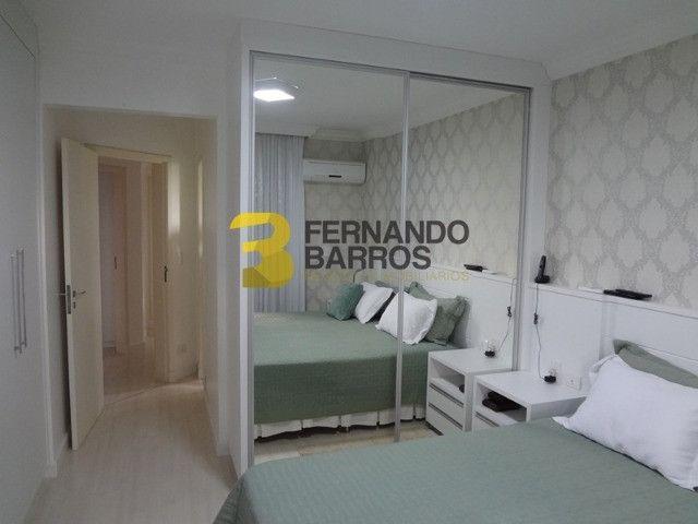 Lindo Ed Green City com 145,00m2 útil, inteiro mobiliado, perto da Av. Paraná, 2 vagas - Foto 6