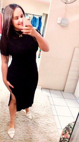 Vestido canelado  - Foto 2