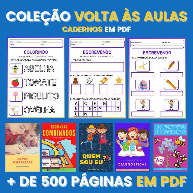 .:: Kit de Atividades ::. Kit Volta as Aulas - Foto 2