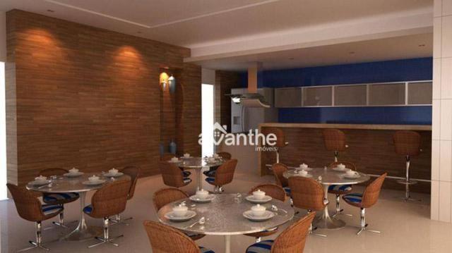 Apartamento com 3 dormitórios à venda, 107 m² por R$ 684.000 - Noivos / Zona Leste / Poeti - Foto 8
