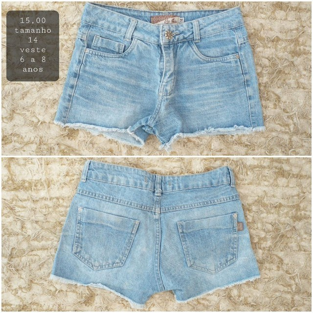 Jeans menina veste 6 a 8 anos - Foto 2