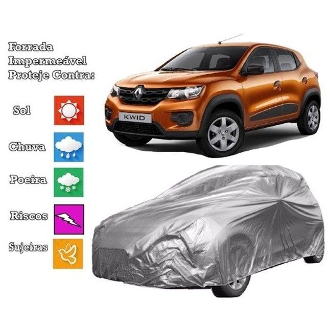 Temos capas de carro proteção UV e chuva forrada internamente  - Foto 2