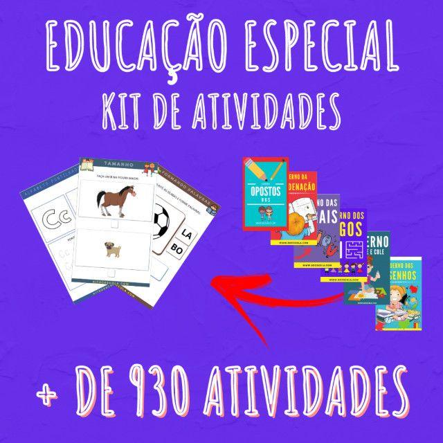 .:: Kit de Atividades :: Kit Educação Especial - Foto 3