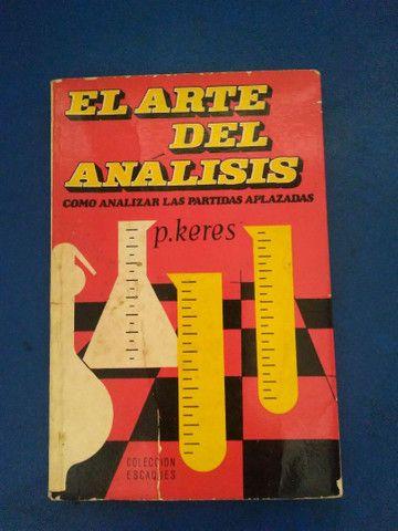 Livro de xadrez El arte del análisis