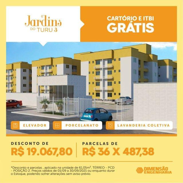 P/M: Casas e Apartamentos em toda São Luís e Região - Foto 2