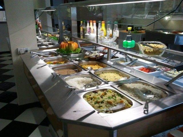 Mesa buffet conjugada luxo Jabur Refrigeração
