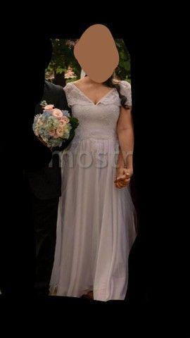 Vestido de noiva + véu  - Foto 4