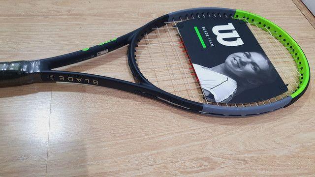 Raquete de tenis Wilson Blade 99 Team V7 - Foto 2