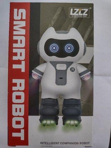 Smart Robot Robô Inteligente Musical Brinquedo Criança Luzes - Foto 6