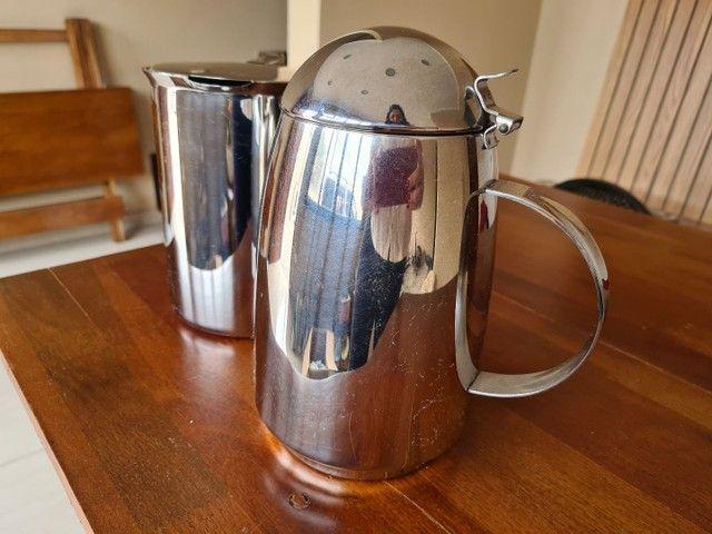 Kit bule para chá, café, leite e jarra para água  - Foto 2