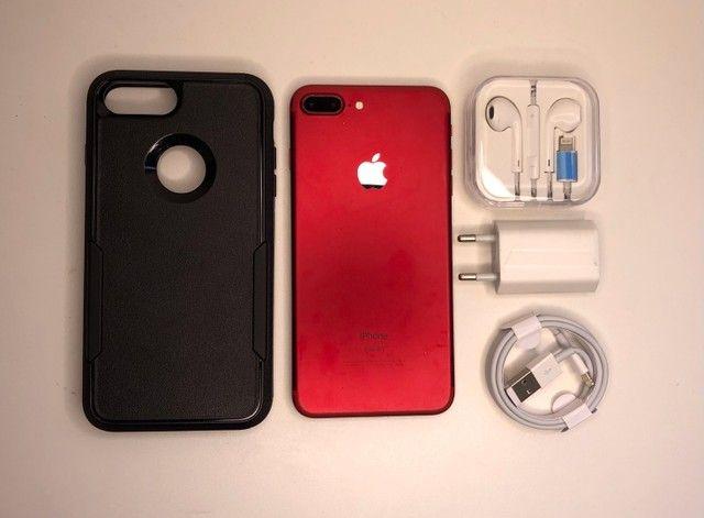 iPhone 7 Plus Red 128 GB - Foto 2