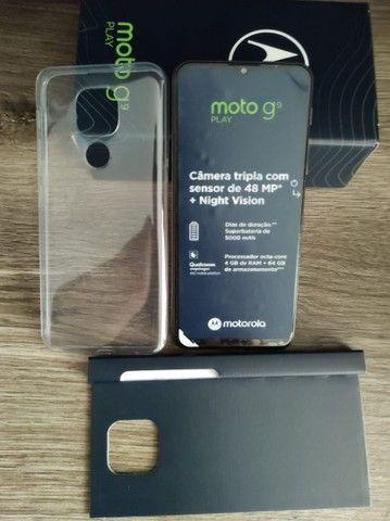 T.r.o.c.o Motorola moto g 9 novo e na garantia - Foto 4