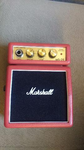 Mini Amplificador Guitarra Marshall Ms-2r usado