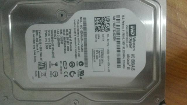 HD para pc 160GB
