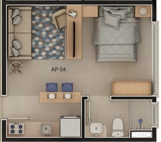 Studio(s) e Loft(s) no Centro - Orion Residence - Entrega Julho/21 - Foto 3