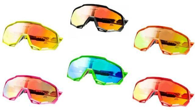 b413972f1 Óculos De Ciclismo Mtb 3 Lentes Com Proteção Uv400 Tsw Cross ...