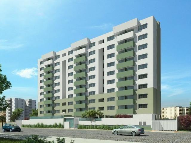 Apartamento 03 Quartos, ÷ em 60 meses, c/ Suíte, Varanda e DCE, na Mangabeiras!