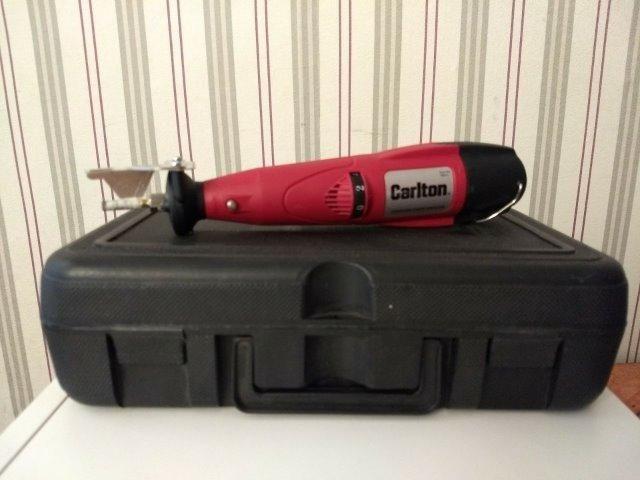 Micro-retífica Marca Carlton 25000 rpm nova bateria