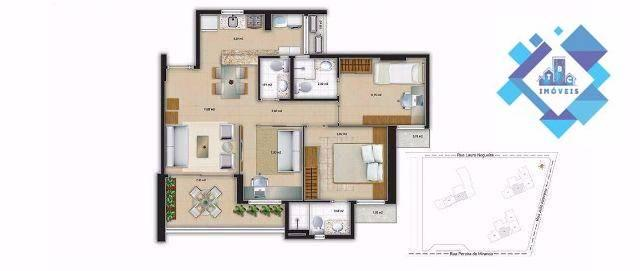 Apartamento novo 69m² no Papicu - Foto 7