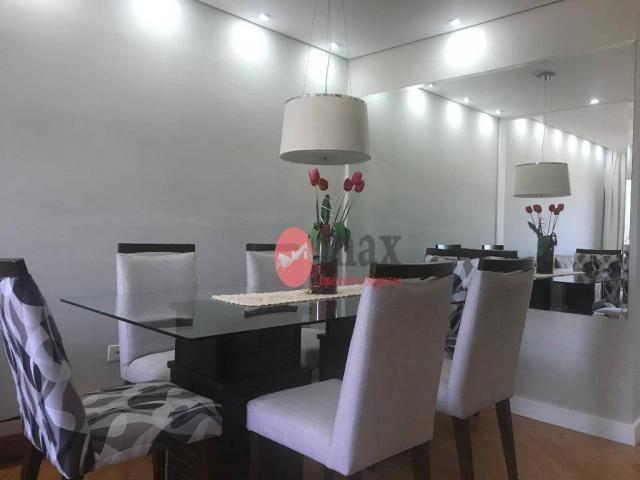 Apartamento com 3 dormitórios à venda, 100 m² por R$ 450.000 - Centro - Suzano/SP - Foto 5