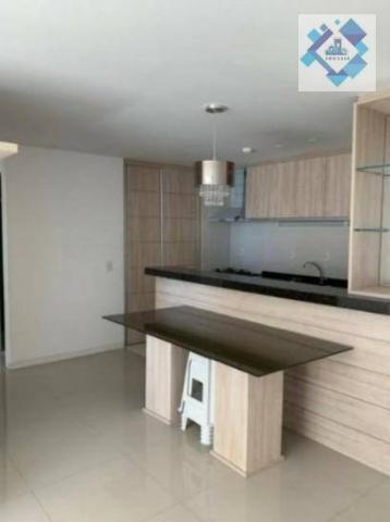 Apartamento com 2 dormitórios à venda, 68 m² por R$ 660.000 - Meireles - Fortaleza/CE - Foto 4