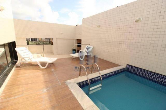 Apartamento com 2 dormitórios à venda, 65 m² por R$ 350.000 - Jatiúca - Maceió/AL - Foto 19