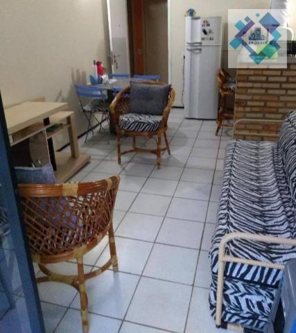 Apartamento com 1 dormitório à venda, 38 m² por R$ 220.000 - Porto das Dunas - Aquiraz/CE - Foto 7