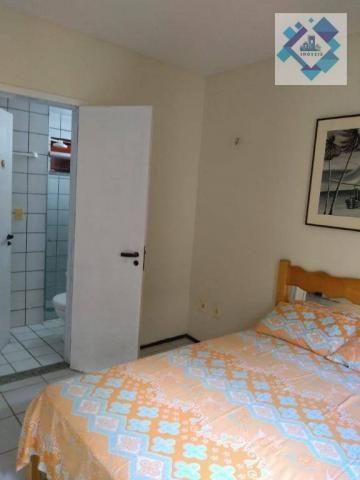 Apartamento com 1 dormitório à venda, 38 m² por R$ 220.000 - Porto das Dunas - Aquiraz/CE - Foto 13