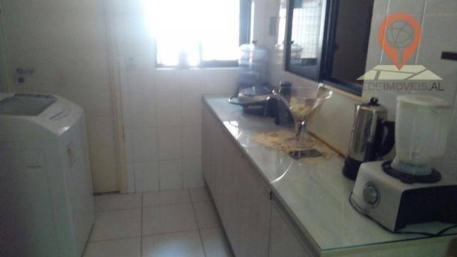 Apartamento com 2 dormitórios à venda, 110 m² por R$ 550.000 - Jatiúca - Maceió/AL - Foto 8
