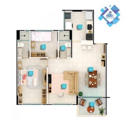 Apartamento  58 m² no Passaré. - Foto 14